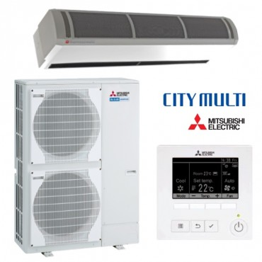 Mitsubishi Free Standing Curtain Heat Pump HP1500 DXE-Y