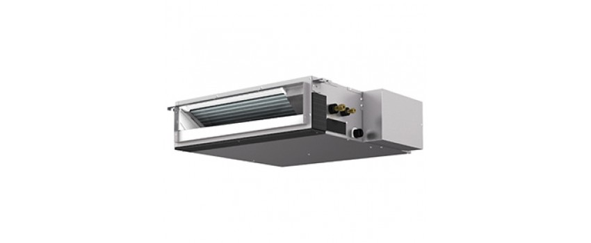 Low noise ceiling concealed ducted mounted from mitsubishi electric