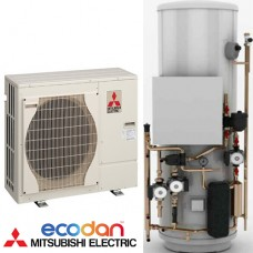 Mitsubishi Electric PUHZ-W50VHA and 150 Liter Hot Water