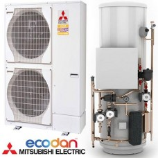 Mitsubishi Electric PUHZ-W112VHA and 170 L Hot Water