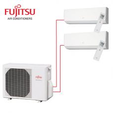 Fujitsu Multi Split DC Inverter AYOG18LAC2 (18000 BTU) Wall Mounted ASYG07LMCA (7000 BTU) / ASYG14LMCA (14000 BTU)