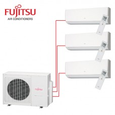 Fujitsu Multi Split 3 Rooms Air Conditioning