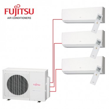 Fujitsu Multi Split Wall Mounted AOYG18LAT3 3 Rooms