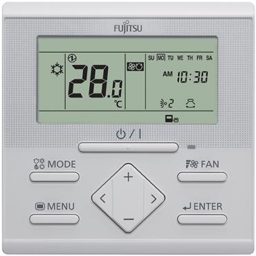 Fujitsu Hard Wired Remote Controller UTY-RLRY