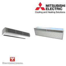 Mitsubishi Electric Free Standing Heat Pump Air Curtain HP1000DXE/PUHZ-ZRP71VHA (7.4 kW)