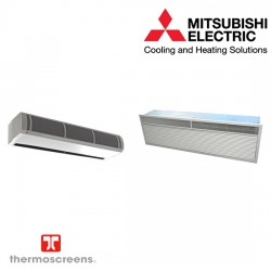Mitsubishi Electric Recessed Air Curtain VRF HP1000R DXE