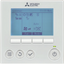 Mitsubishi Electric Lossnay Remote Controller PZ-61DR