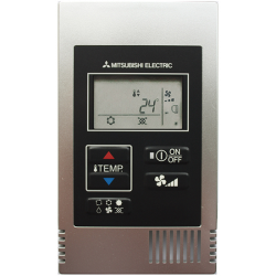 Mitsubishi Electric Simplified Silver Remote Controller PAC-YT52CRAS