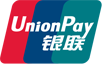 You can pay with UnionPay