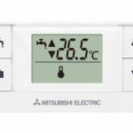 Mitsubishi Ecodan controller wireless controller and receiver