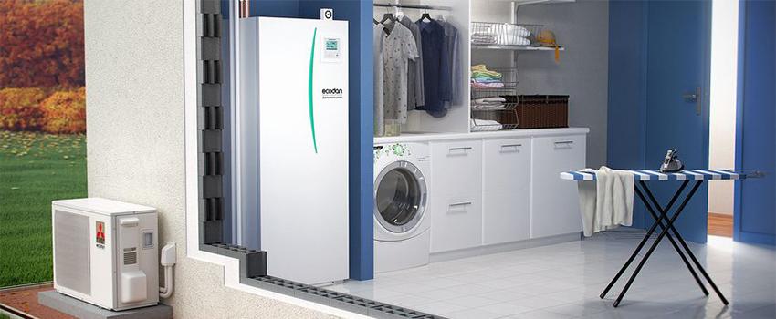 Mitsubishi Electric ECODAN heating and hot water