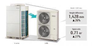 Fujitsu commercial air conditioning Airstage VRF J-IIIL Series